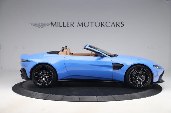 New 2021 Aston Martin Vantage Roadster for sale Call for price at Pagani of Greenwich in Greenwich CT 06830 8