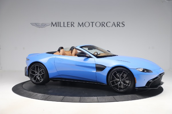New 2021 Aston Martin Vantage Roadster for sale Call for price at Pagani of Greenwich in Greenwich CT 06830 9