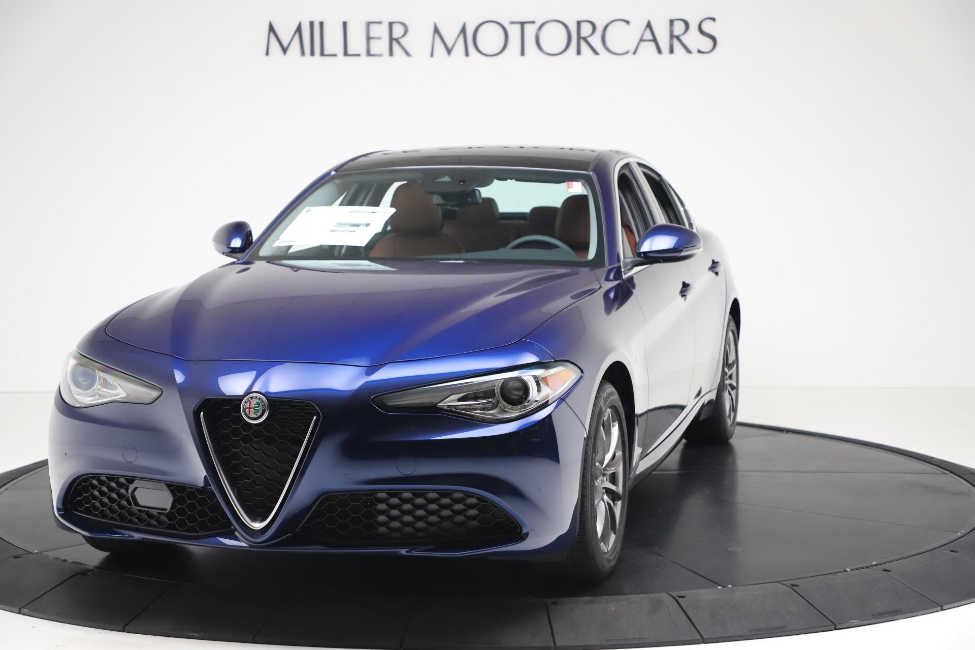 New 2020 Alfa Romeo Giulia Q4 for sale $45,445 at Pagani of Greenwich in Greenwich CT 06830 1