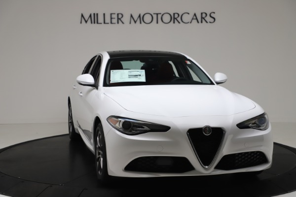 New 2020 Alfa Romeo Giulia Q4 for sale $44,845 at Pagani of Greenwich in Greenwich CT 06830 11
