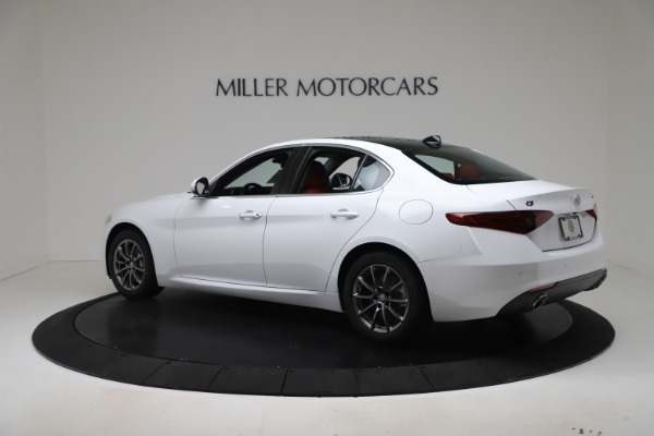 New 2020 Alfa Romeo Giulia Q4 for sale $44,845 at Pagani of Greenwich in Greenwich CT 06830 4