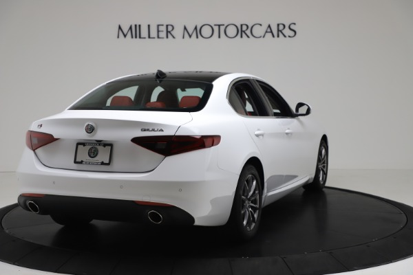 New 2020 Alfa Romeo Giulia Q4 for sale $44,845 at Pagani of Greenwich in Greenwich CT 06830 7
