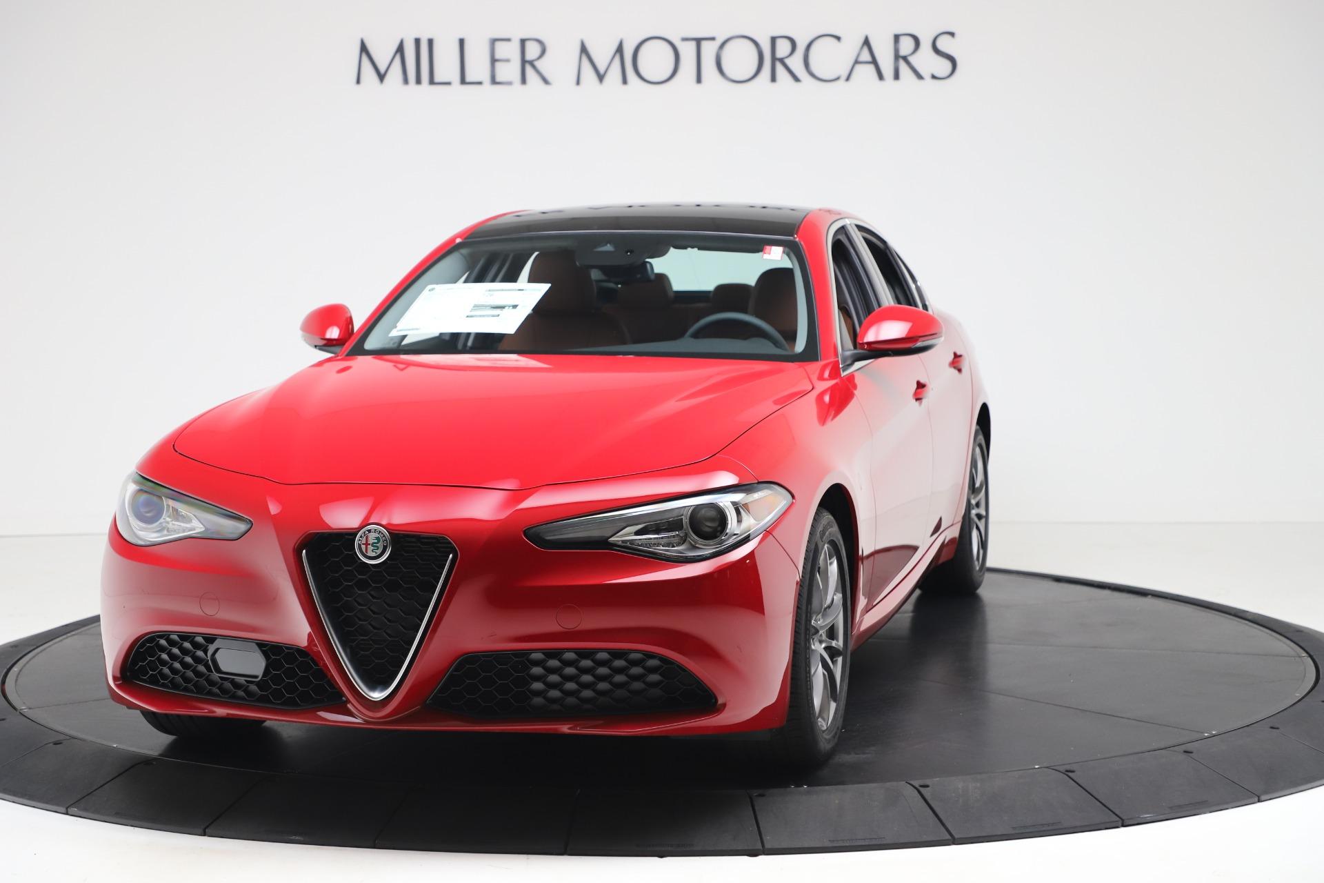 New 2020 Alfa Romeo Giulia Q4 for sale $44,845 at Pagani of Greenwich in Greenwich CT 06830 1