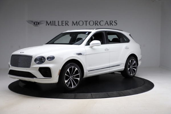 New 2021 Bentley Bentayga V8 for sale $207,765 at Pagani of Greenwich in Greenwich CT 06830 2