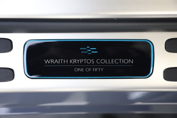 New 2021 Rolls-Royce Wraith KRYPTOS for sale $450,550 at Pagani of Greenwich in Greenwich CT 06830 26