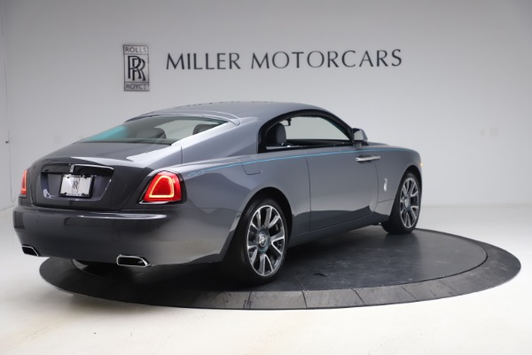 New 2021 Rolls-Royce Wraith KRYPTOS for sale $450,550 at Pagani of Greenwich in Greenwich CT 06830 9