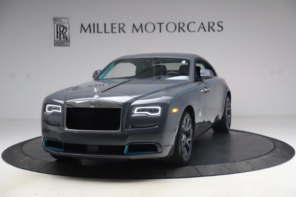 New 2021 Rolls-Royce Wraith KRYPTOS for sale $450,550 at Pagani of Greenwich in Greenwich CT 06830 1