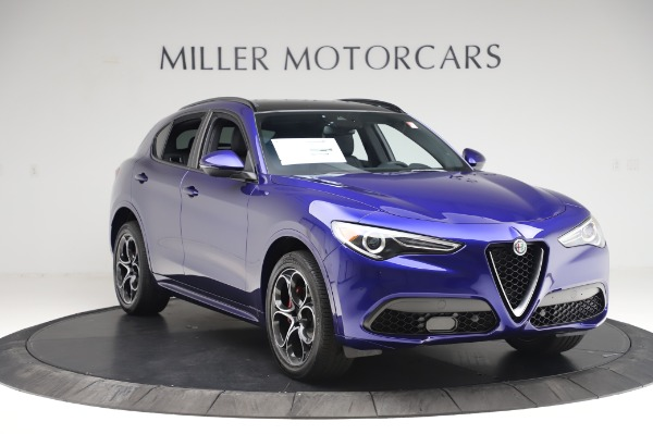 New 2020 Alfa Romeo Stelvio Ti Sport Q4 for sale $57,045 at Pagani of Greenwich in Greenwich CT 06830 11