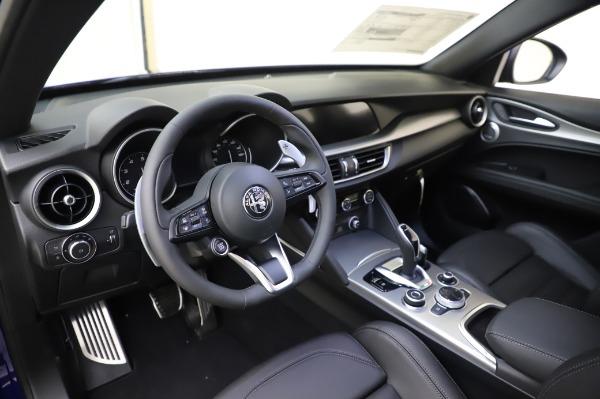 New 2020 Alfa Romeo Stelvio Ti Sport Q4 for sale $57,045 at Pagani of Greenwich in Greenwich CT 06830 13