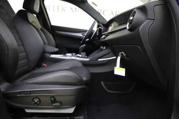 New 2020 Alfa Romeo Stelvio Ti Sport Q4 for sale $57,045 at Pagani of Greenwich in Greenwich CT 06830 23