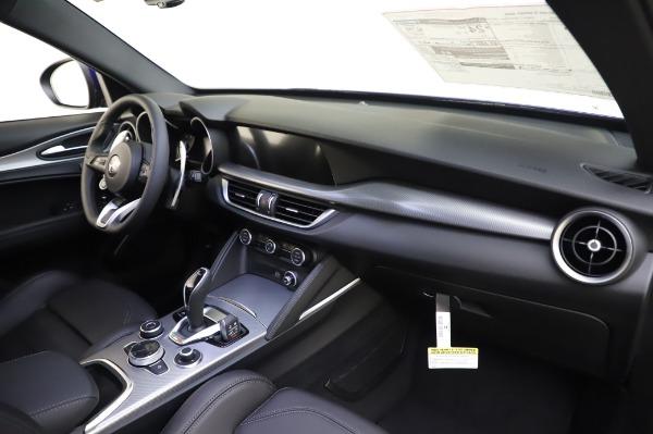 New 2020 Alfa Romeo Stelvio Ti Sport Q4 for sale $57,045 at Pagani of Greenwich in Greenwich CT 06830 24
