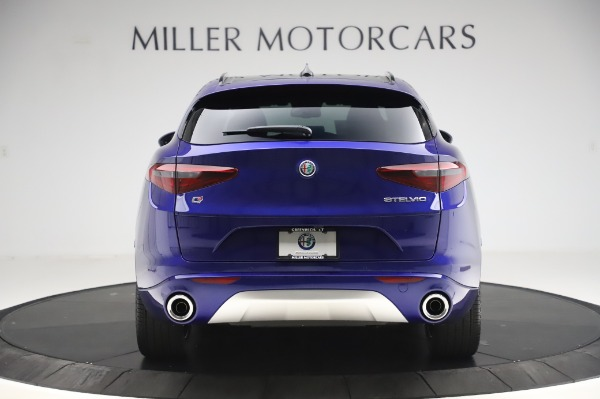 New 2020 Alfa Romeo Stelvio Ti Sport Q4 for sale $57,045 at Pagani of Greenwich in Greenwich CT 06830 6