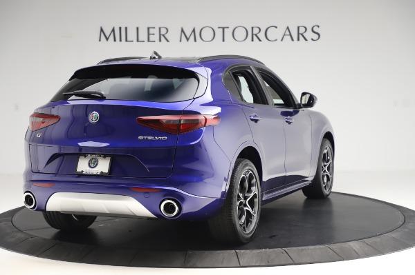 New 2020 Alfa Romeo Stelvio Ti Sport Q4 for sale $57,045 at Pagani of Greenwich in Greenwich CT 06830 7