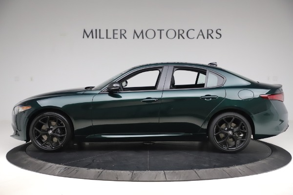 New 2020 Alfa Romeo Giulia Ti Q4 for sale Sold at Pagani of Greenwich in Greenwich CT 06830 3