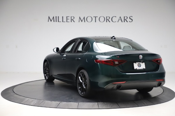 New 2020 Alfa Romeo Giulia Ti Q4 for sale Sold at Pagani of Greenwich in Greenwich CT 06830 5