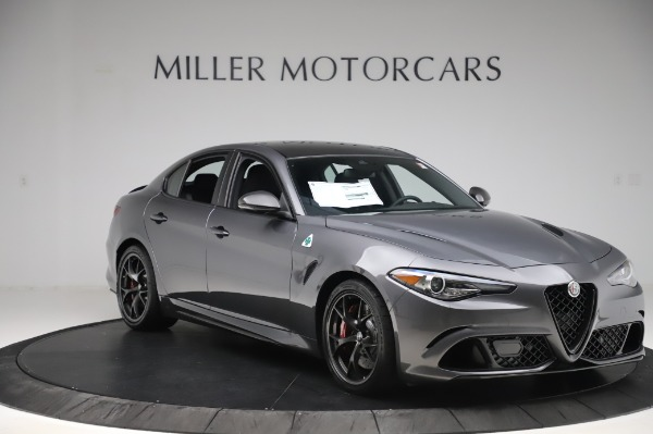 New 2020 Alfa Romeo Giulia Quadrifoglio for sale $87,445 at Pagani of Greenwich in Greenwich CT 06830 11