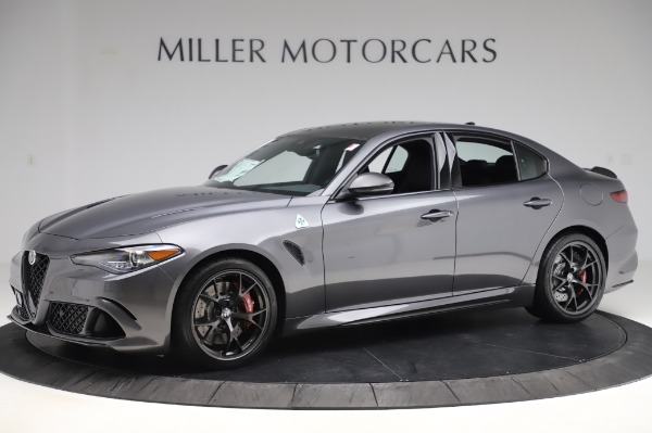 New 2020 Alfa Romeo Giulia Quadrifoglio for sale $87,445 at Pagani of Greenwich in Greenwich CT 06830 2