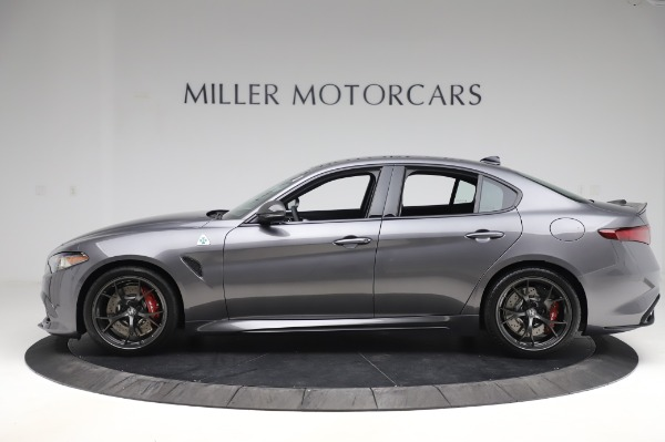 New 2020 Alfa Romeo Giulia Quadrifoglio for sale $87,445 at Pagani of Greenwich in Greenwich CT 06830 3