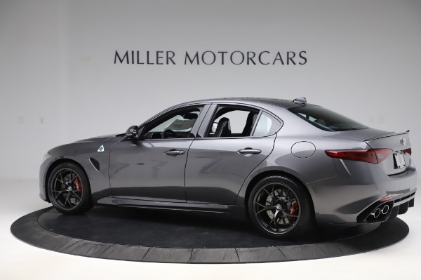 New 2020 Alfa Romeo Giulia Quadrifoglio for sale $87,445 at Pagani of Greenwich in Greenwich CT 06830 4
