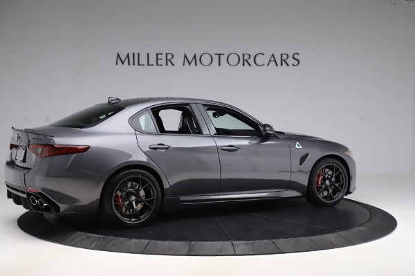 New 2020 Alfa Romeo Giulia Quadrifoglio for sale $87,445 at Pagani of Greenwich in Greenwich CT 06830 8
