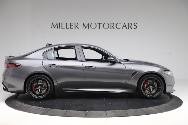 New 2020 Alfa Romeo Giulia Quadrifoglio for sale $87,445 at Pagani of Greenwich in Greenwich CT 06830 9