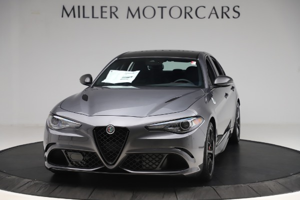 New 2020 Alfa Romeo Giulia Quadrifoglio for sale $87,445 at Pagani of Greenwich in Greenwich CT 06830 1