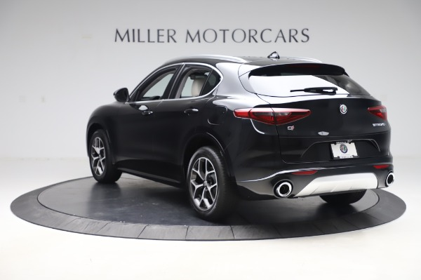 New 2020 Alfa Romeo Stelvio Ti Q4 for sale $50,895 at Pagani of Greenwich in Greenwich CT 06830 5