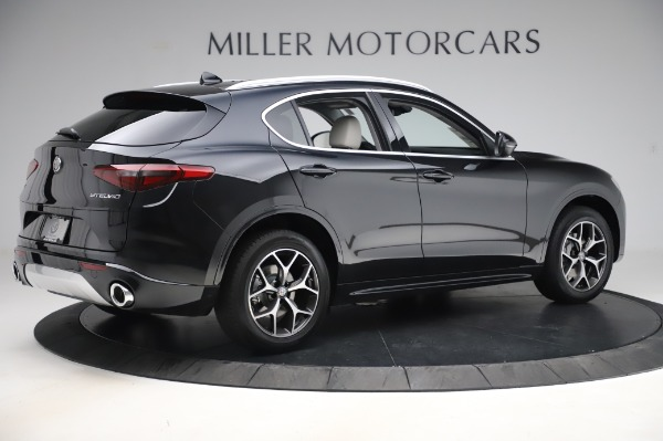 New 2020 Alfa Romeo Stelvio Ti Q4 for sale $50,895 at Pagani of Greenwich in Greenwich CT 06830 8