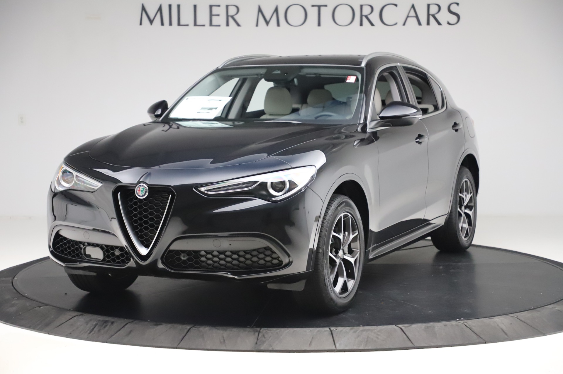 New 2020 Alfa Romeo Stelvio Ti Q4 for sale $50,895 at Pagani of Greenwich in Greenwich CT 06830 1