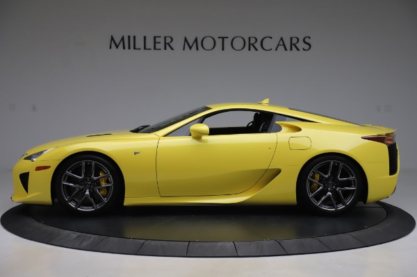Used 2012 Lexus LFA for sale $509,900 at Pagani of Greenwich in Greenwich CT 06830 3
