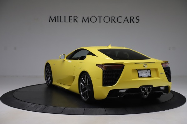 Used 2012 Lexus LFA for sale $509,900 at Pagani of Greenwich in Greenwich CT 06830 5