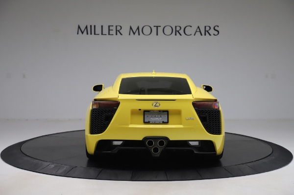 Used 2012 Lexus LFA for sale $509,900 at Pagani of Greenwich in Greenwich CT 06830 6