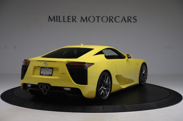 Used 2012 Lexus LFA for sale $509,900 at Pagani of Greenwich in Greenwich CT 06830 7