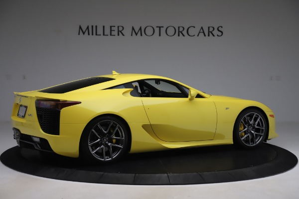 Used 2012 Lexus LFA for sale $509,900 at Pagani of Greenwich in Greenwich CT 06830 8