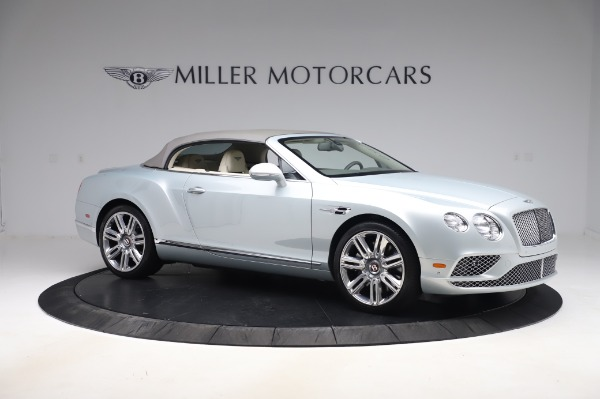 Used 2017 Bentley Continental GTC V8 for sale Sold at Pagani of Greenwich in Greenwich CT 06830 18