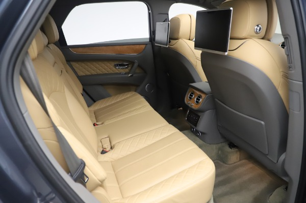 Used 2017 Bentley Bentayga W12 for sale Sold at Pagani of Greenwich in Greenwich CT 06830 27