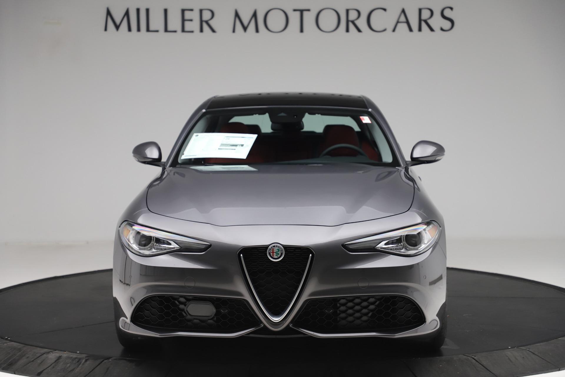 New 2020 Alfa Romeo Giulia Sport Q4 for sale Sold at Pagani of Greenwich in Greenwich CT 06830 1