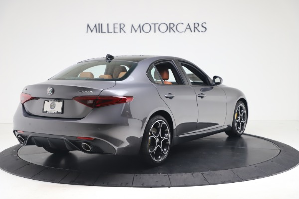 New 2020 Alfa Romeo Giulia Ti Sport Q4 for sale Sold at Pagani of Greenwich in Greenwich CT 06830 7