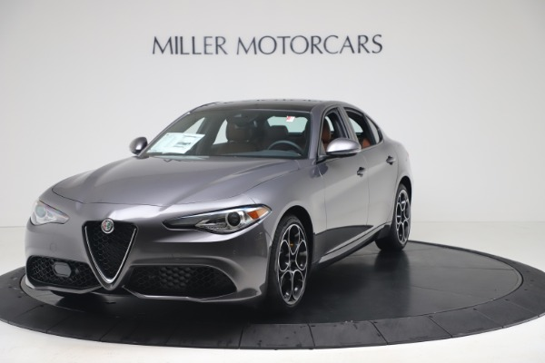 New 2020 Alfa Romeo Giulia Ti Sport Q4 for sale Sold at Pagani of Greenwich in Greenwich CT 06830 1