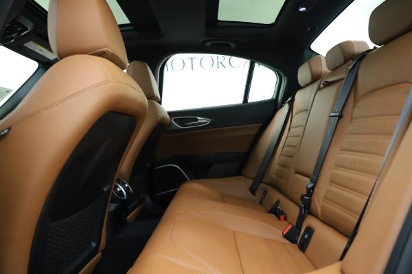 New 2020 Alfa Romeo Giulia Ti Sport Q4 for sale $51,495 at Pagani of Greenwich in Greenwich CT 06830 19