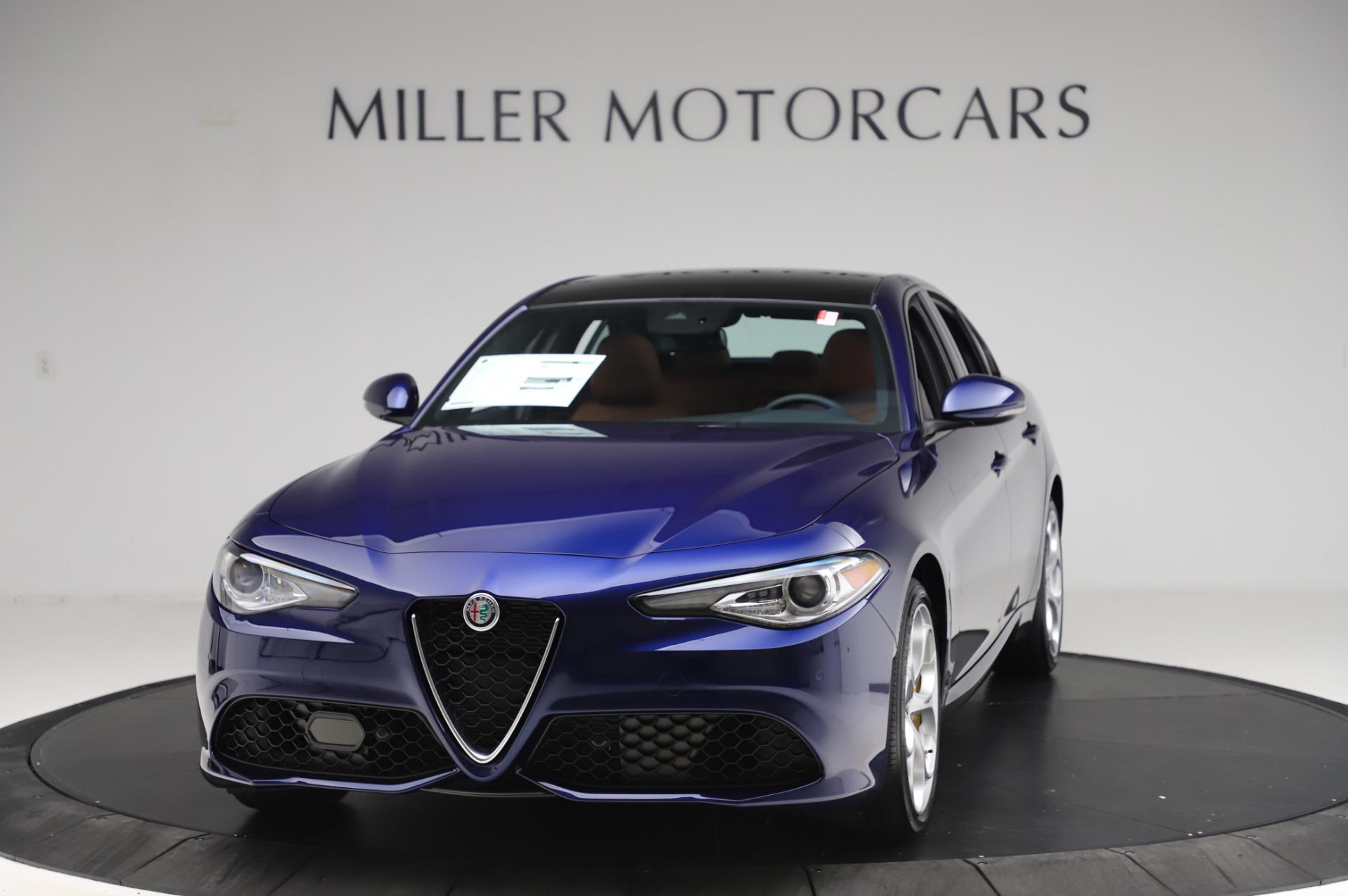 New 2020 Alfa Romeo Giulia Ti Sport Q4 for sale $51,495 at Pagani of Greenwich in Greenwich CT 06830 1