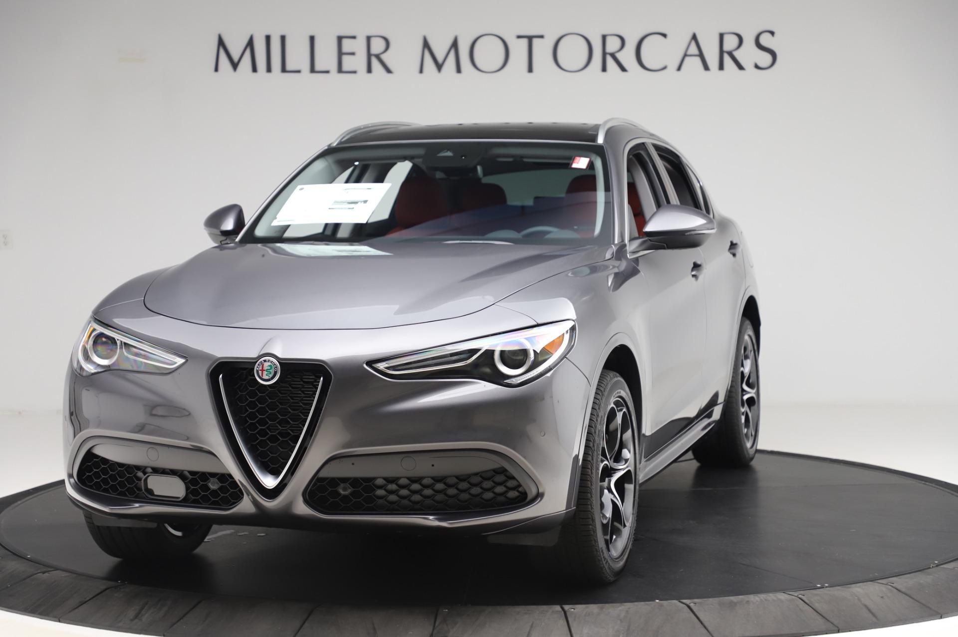 New 2020 Alfa Romeo Stelvio Ti Q4 for sale $51,045 at Pagani of Greenwich in Greenwich CT 06830 1