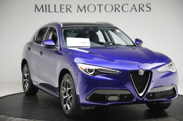 New 2020 Alfa Romeo Stelvio Ti Q4 for sale $50,695 at Pagani of Greenwich in Greenwich CT 06830 11