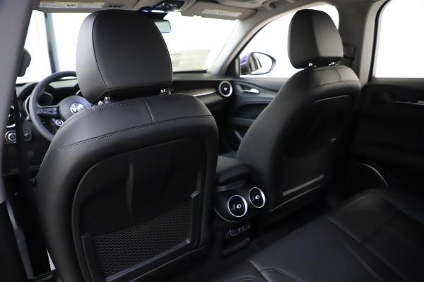 New 2020 Alfa Romeo Stelvio Ti Q4 for sale $50,695 at Pagani of Greenwich in Greenwich CT 06830 19