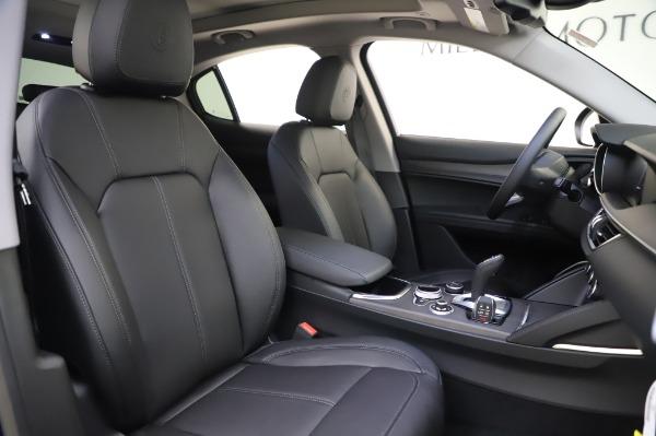 New 2020 Alfa Romeo Stelvio Ti Q4 for sale $50,695 at Pagani of Greenwich in Greenwich CT 06830 21