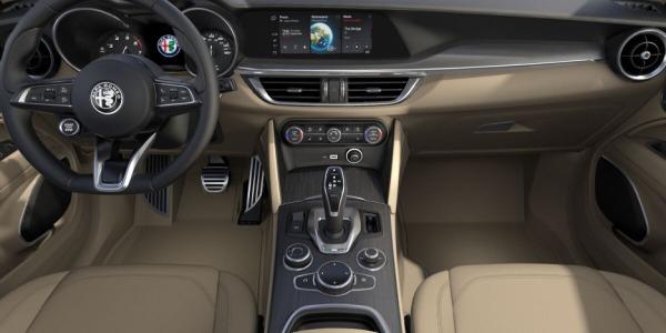 New 2020 Alfa Romeo Stelvio Ti Lusso Q4 for sale $54,745 at Pagani of Greenwich in Greenwich CT 06830 4