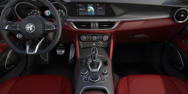 New 2020 Alfa Romeo Stelvio Ti Lusso Q4 for sale $54,145 at Pagani of Greenwich in Greenwich CT 06830 4