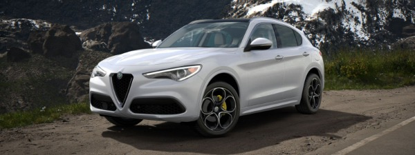 New 2020 Alfa Romeo Stelvio Ti Lusso Q4 for sale $55,045 at Pagani of Greenwich in Greenwich CT 06830 1