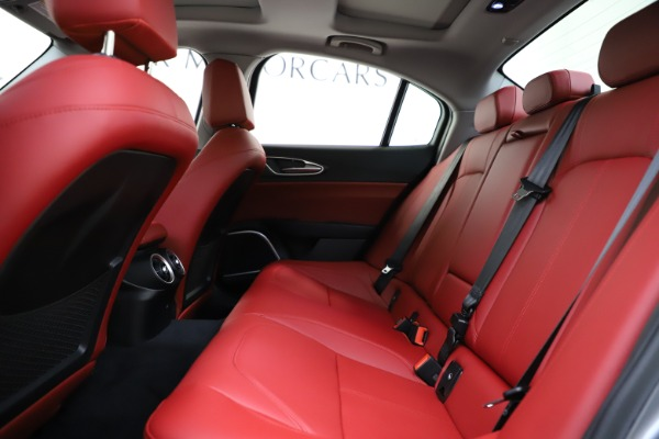 New 2020 Alfa Romeo Giulia Ti Q4 for sale Sold at Pagani of Greenwich in Greenwich CT 06830 20