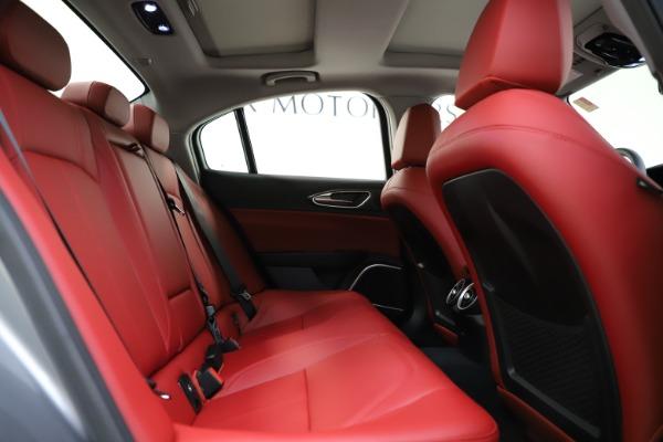 New 2020 Alfa Romeo Giulia Ti Q4 for sale Sold at Pagani of Greenwich in Greenwich CT 06830 28